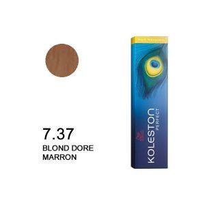 Wella Koleston Perfect Rich Naturals 7.37 Blond doré marron
