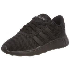half off 4b859 e8807 Comparer chez 3 marchands. Adidas Lite Racer K, Chaussures de Fitness Mixte  Enfant, Noir (Negbas Neguti