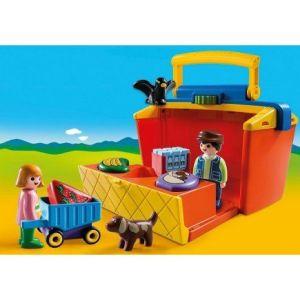 Playmobil 9123 - 1.2.3 : Mon étal de marchand