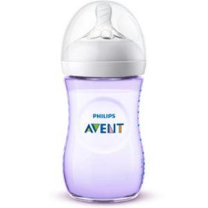 Philips Biberon Natural 2.0 - Violet - 260 ml