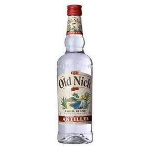 Old Nick Rhum blanc traditionnel des Antilles - La bouteille de 70cl