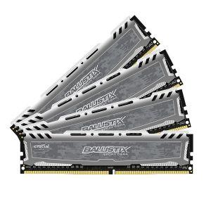 Crucial Sport LT 32 Go (4 x 8 Go) DDR4 3000 MHz CL15 SR