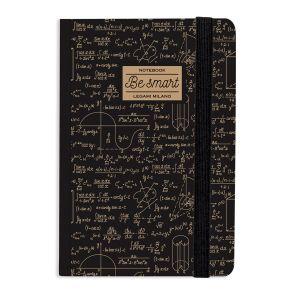 Legami Carnet ligné Maths à élastique - 9,5x13,5 cm - 168 pages
