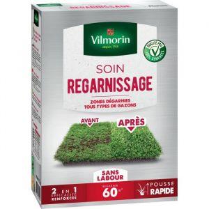 Vilmorin Semences pour soins et regarnissage universel de gazon - 2 en 1 - 1 kg