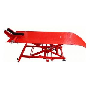 Table élévatrice moto 450 kg hydraulique largeur 66 cm bricolage outils professionnel