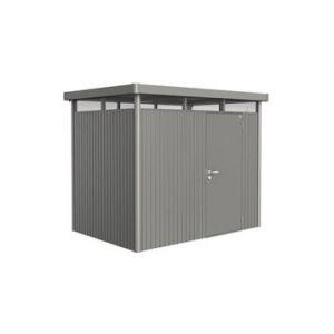 Image de Biohort Highline TH2 modèle 1 porte - Abri de jardin métal 4.33 m² ep.0.53 mm