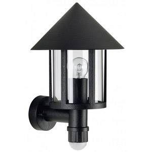 Albert Leuchten Applique d'extérieur Laterna avec détecteur noir