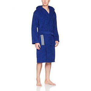 Adidas BR0956 Peignoir Mixte Adulte, Bleu, S