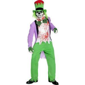 Déguisement clown maléfique Halloween (taille M)