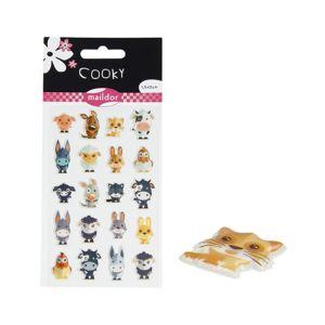 Maildor Stickers Animaux de la ferme - Cooky