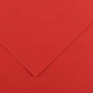 Canson 200040052 - Feuille Iris Vivaldi 50x65 120g/m², coloris rouge 15