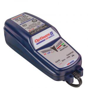 TecMate Optimate 5 Voltmatic : Chargeur, Testeur Et Mainteneur De Batterie 6/12 V