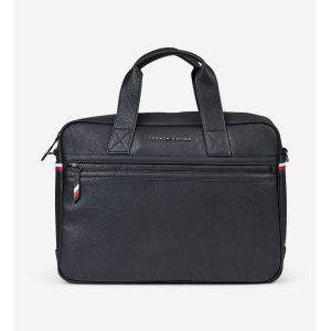 Tommy Hilfiger Essential Computer Bag, Sacs pour ordinateur portable homme, Noir