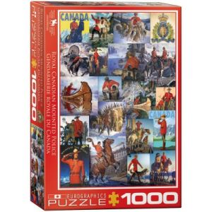 Eurographics Puzzle Royal Canadian Mounted Police 1000 pièces