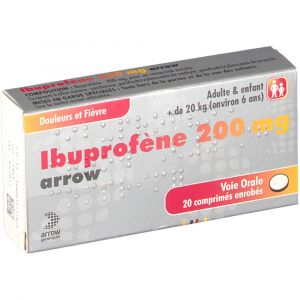Arrow Ibuprofène 200 mg - 20 comprimés