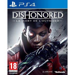 Dishonored la Mort de l'Outsider sur PS4