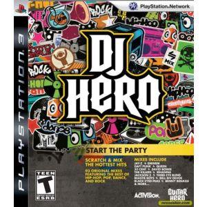 DJ Hero kit platine (jeu + table de mixage) [PS3]
