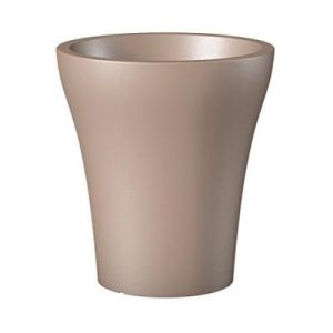 Scheurich 55460 264/32 No1 Style High Pot de Fleurs Plastique Living Taupe 29 x 29 x 32 cm