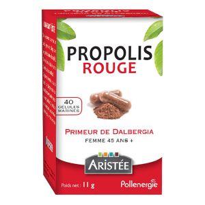 Aristée Pollenergie Gélules propolis rouge de dalbergia x40