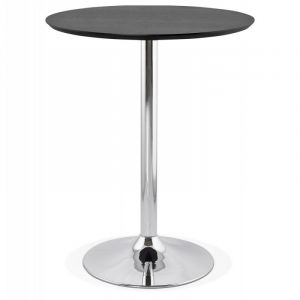 "Table de Bar ""Nazca"" 90cm Noir Prix"