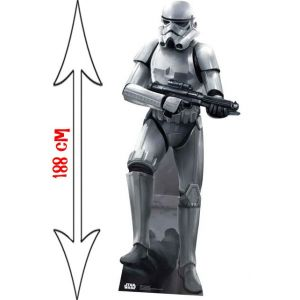 Star Cutouts Figurine géante en carton Star Wars Stormtrooper