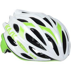 Kask Mojito 16 - Casque de vélo - Mixte Adulte - Multicolore (Weiß/Lindgrün) - Taille: M (52-58 cm)