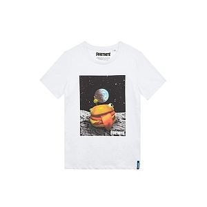 T-shirt - Fortnite - Burger - 10 ans