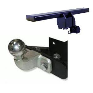 Atnor 4111d - Attelage remorque à plaque frontale démontable avec outils