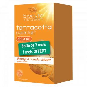 Biocyte Pack Terracotta Cocktail Solaire 3x30 comprimés