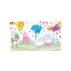 Decofun Stickers pour fenêtre Disney Princess