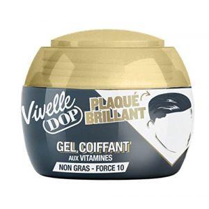 Vivelle Dop Plaqué Brillant - Gel coiffant aux vitamines Force 10