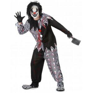 Déguisement clown psychopat homme M