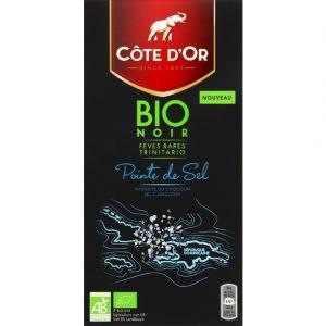 Côte d'Or Chocolat noir bio pointe de sel - La tablette de 90 g