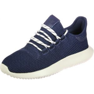 Adidas Tubular Shadow, Baskets Basses Mixte Enfant - Bleu (Collegiate Navy/Chalk White), 38 2/3 EU
