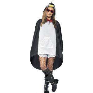 Smiffy's Poncho pingouin adulte M