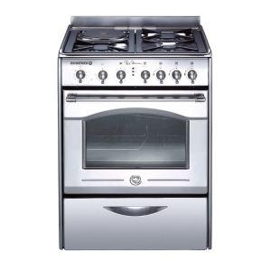 Rosières RBT 60 IN - Cuisinière mixte Paul Bocuse 3 brûleurs gaz avec four électrique