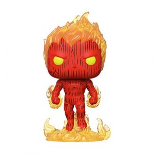 Funko Pop Marvel: Fantastic Four-Human Torch Collectible Toy, 44987, Multicolour