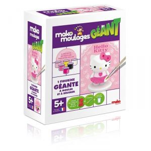 Mako moulages Moulage en plâtre : géant Hello Kitty