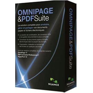 Coffret Omnipage et PDF suite [Windows]