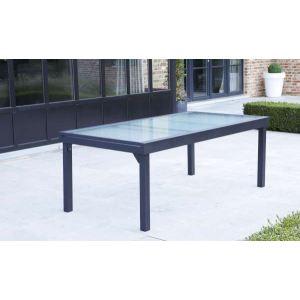 3aa59b0def88d Wilsa Modulo - Table de jardin 8 12 personnes 200 320 x 100 x
