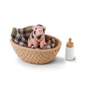 Schleich 42294 - Mini-cochon avec biberon