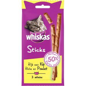 Whiskas Sticks au Poulet - Lot de 3 (20 g)