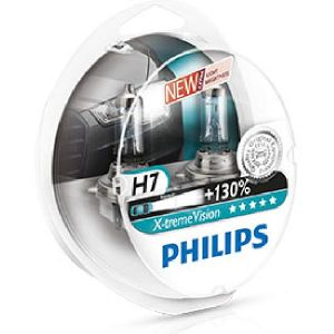Philips 2 Ampoules H7 X-tremeVision 60/55 W 12 V