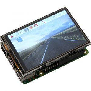 "Joy-it TFT Display Touchscreen 3.5 - Ecran tactile LED 3.5"" (480 x 320) pour carte Raspberry Pi 2 B, Raspberry Pi 3 B, Raspberry Pi B+"