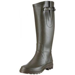 Aigle Ntine - Botte de pluie - Femme - Vert (Kaki) - 40 EU