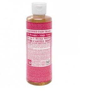 Dr Bronner's Rose Castille - Savon liquide