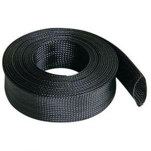 Velleman Gaine pour câble flexible 40 mm x 5 m - noir