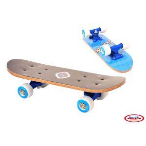 D'arpeje Outdoor FUNBEE - Skateboard 17 pouces bois bleu