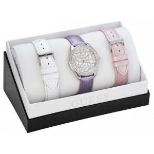 Guess W0308L1 - Coffret montre pour femme avec 3 bracelets