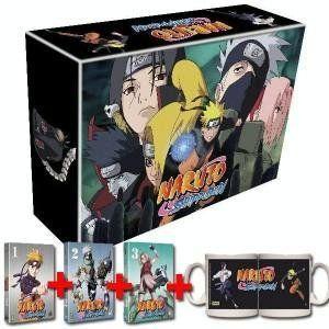 Coffret Naruto Shippuden - L'intégrale des Volumes 1 à 3